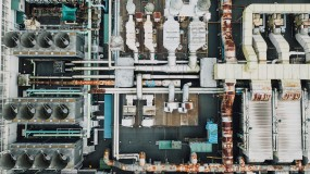 Industrial plants are vulnerable to attack.