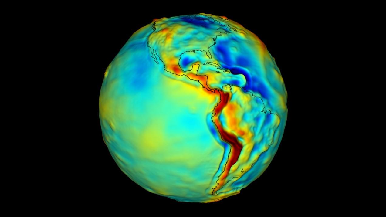 Earth's gravity.