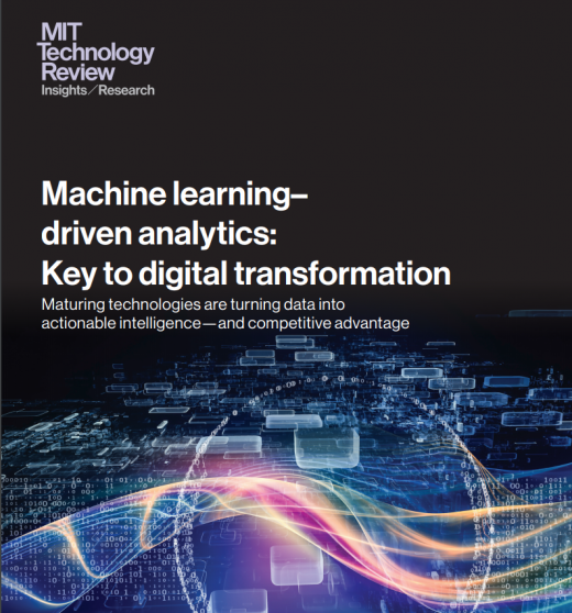 Machine learning - driven analytics: Key to digital transformation
