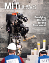 MIT News cover