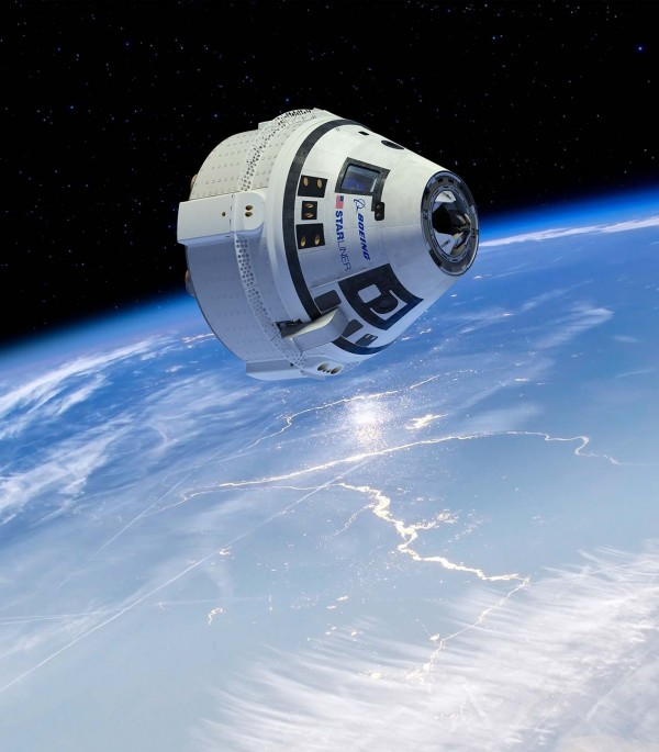 Artists rendering of Boeing Starliner