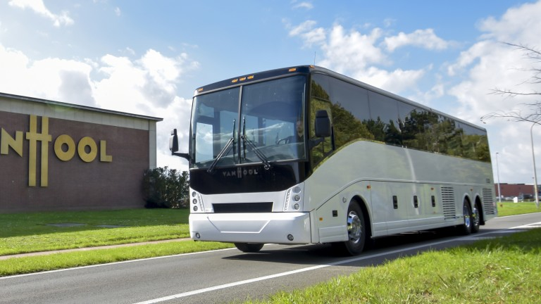 Electric bus powertrains are improving.