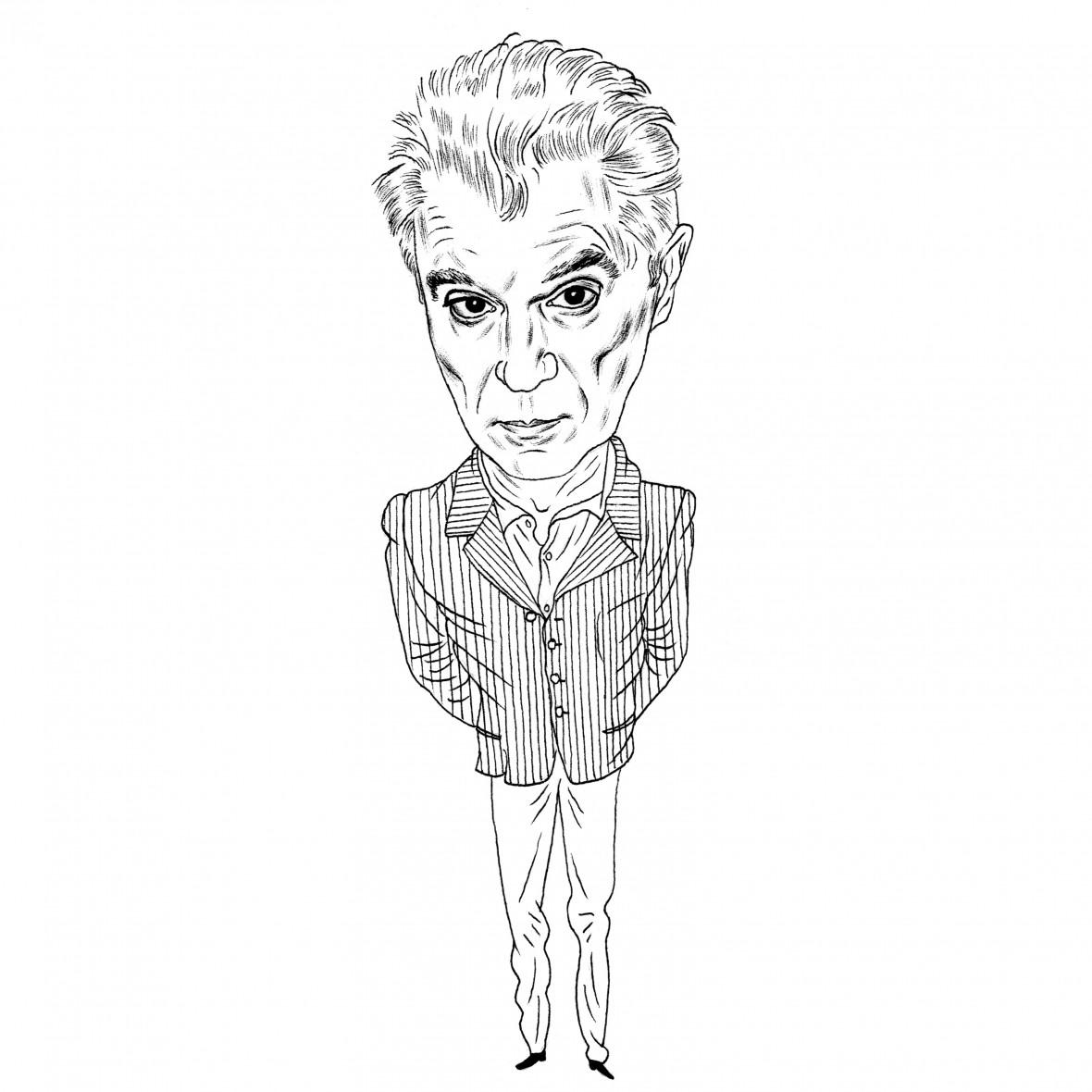 L'élimination de l'Humain par Tom Byrne des Talking Heads
