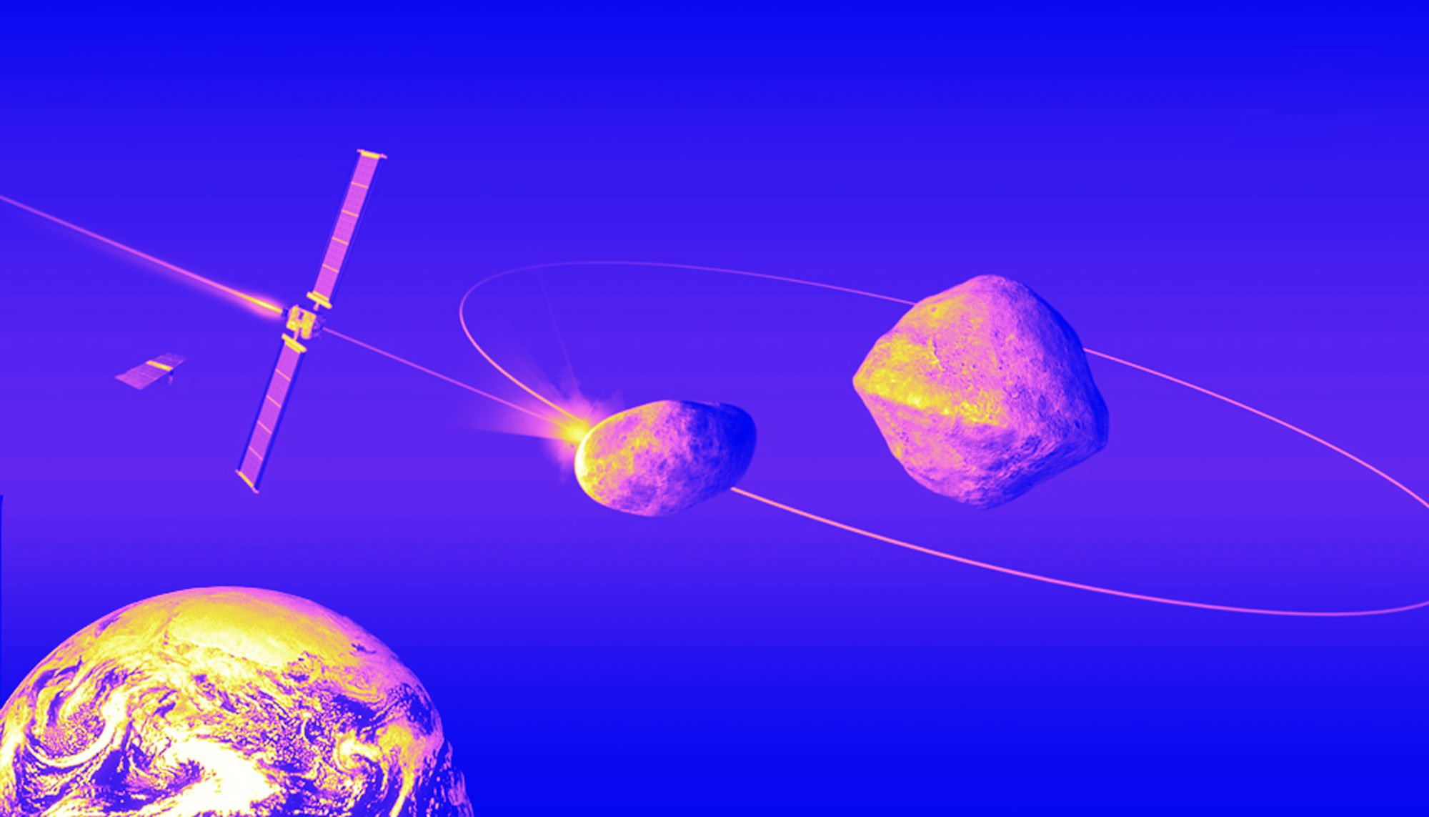 We're going to slam a spacecraft into an asteroid to try to deflect it