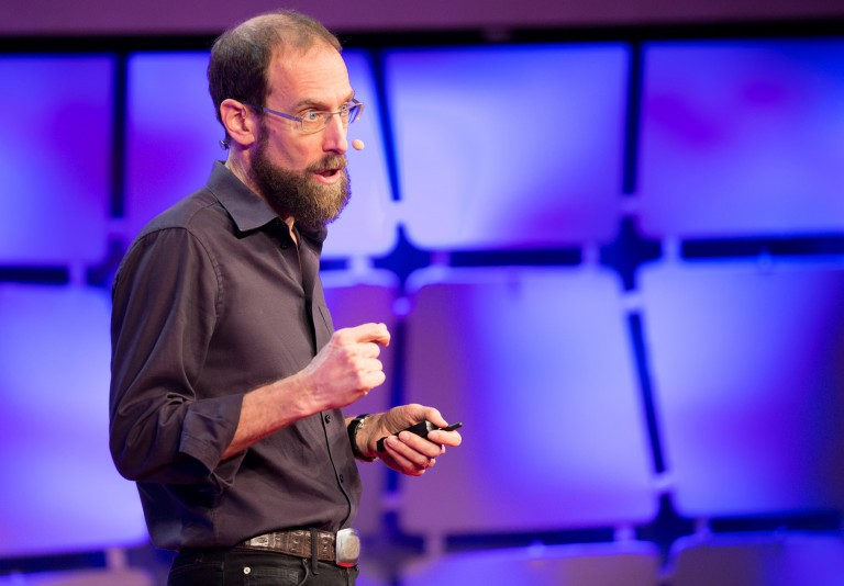David Keith speaks at EmTech MIT