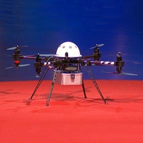 a four-propeller drone