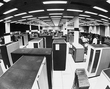 Photo of IBM Real-Time Computer Complex