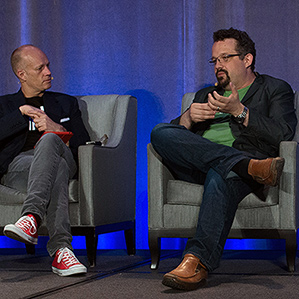 Phil Libin and Jason Pontin