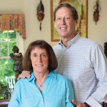 Barbara Moore and Jack VanWoerkom