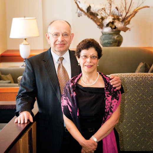 Eberhard and Shahla Wunderlich