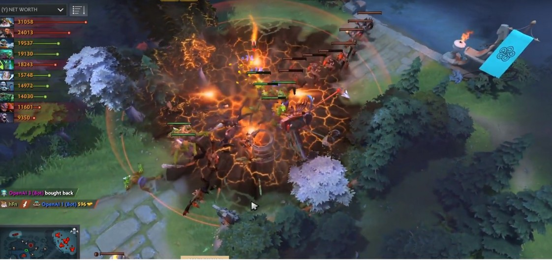 humans are still better than ai at dota 2 for now mit technology