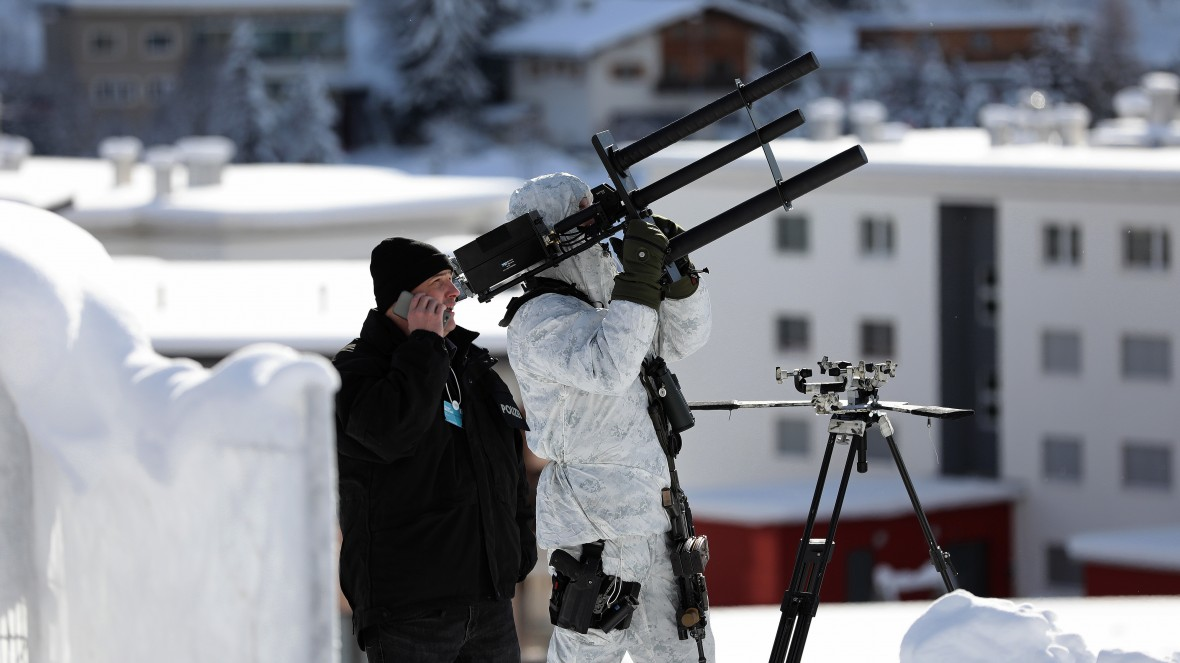 In Davos The Police Will Disarm Your Drone A Heartbeat