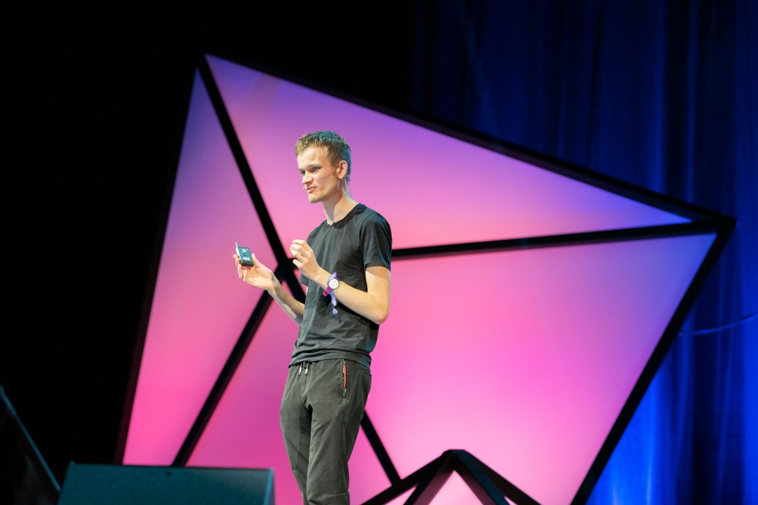 Photo of Vitalik Buterin at Devon