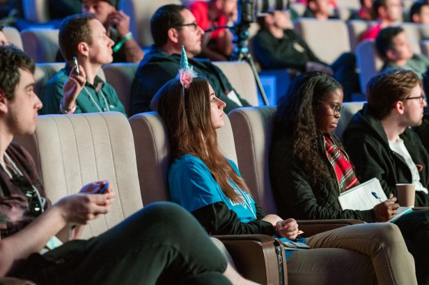 Photo of audience at Devcon