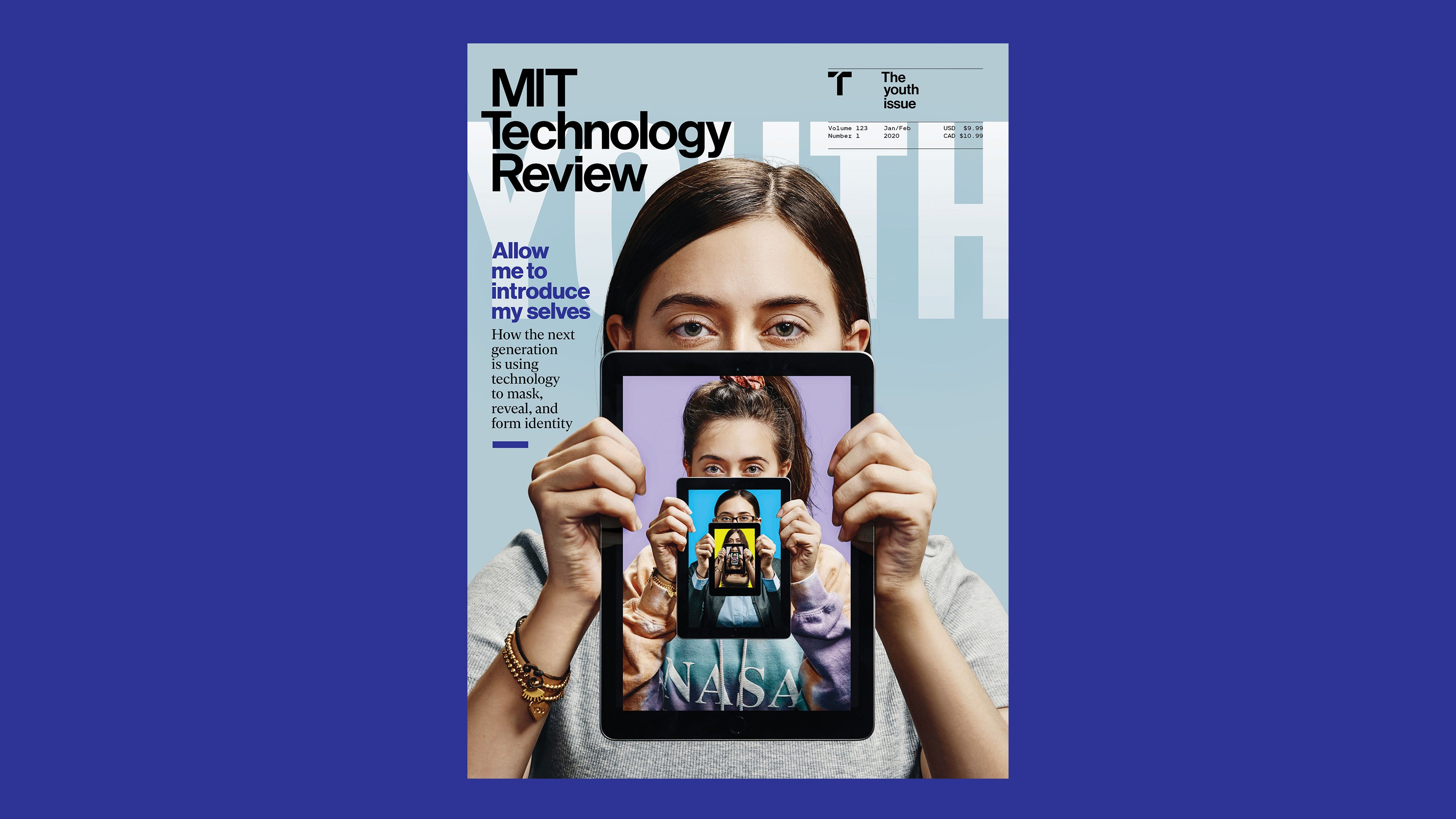Editor's letter: How the next generation is using technology to mask, reveal, and form identity