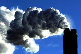 A coal fired power plant