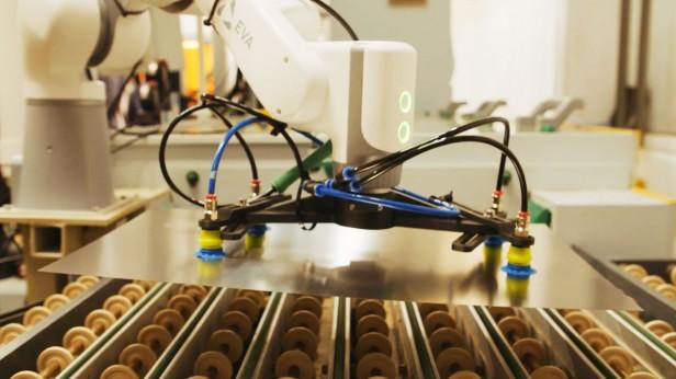 An image of the Eva robot arm