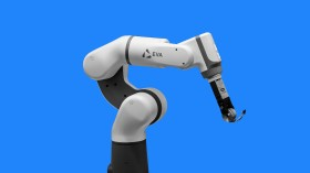 A photo of the Eva robot arm