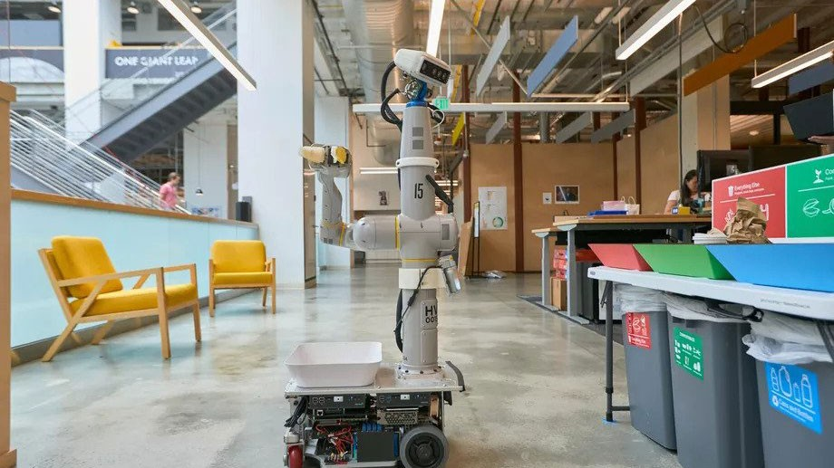 """Alphabet X's """"Everyday Robot"""" project is making machines that learn as they go"""