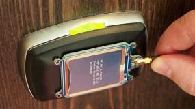 A hacker-created master key unlocks a hotel room door