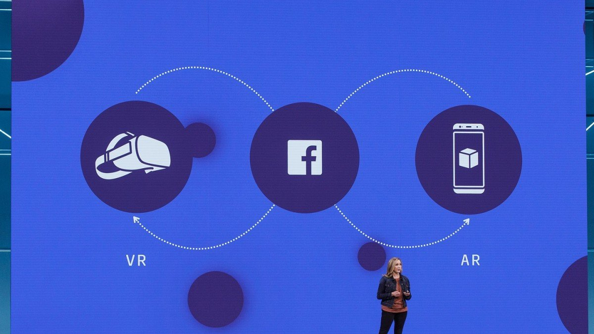 Facebooks Head Of Social Vr Admits There Isnt Much To Do In Its Home Images Headphone Wiring Diagram Facebook App Mit Technology Review