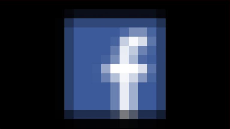 Facebook pixelated