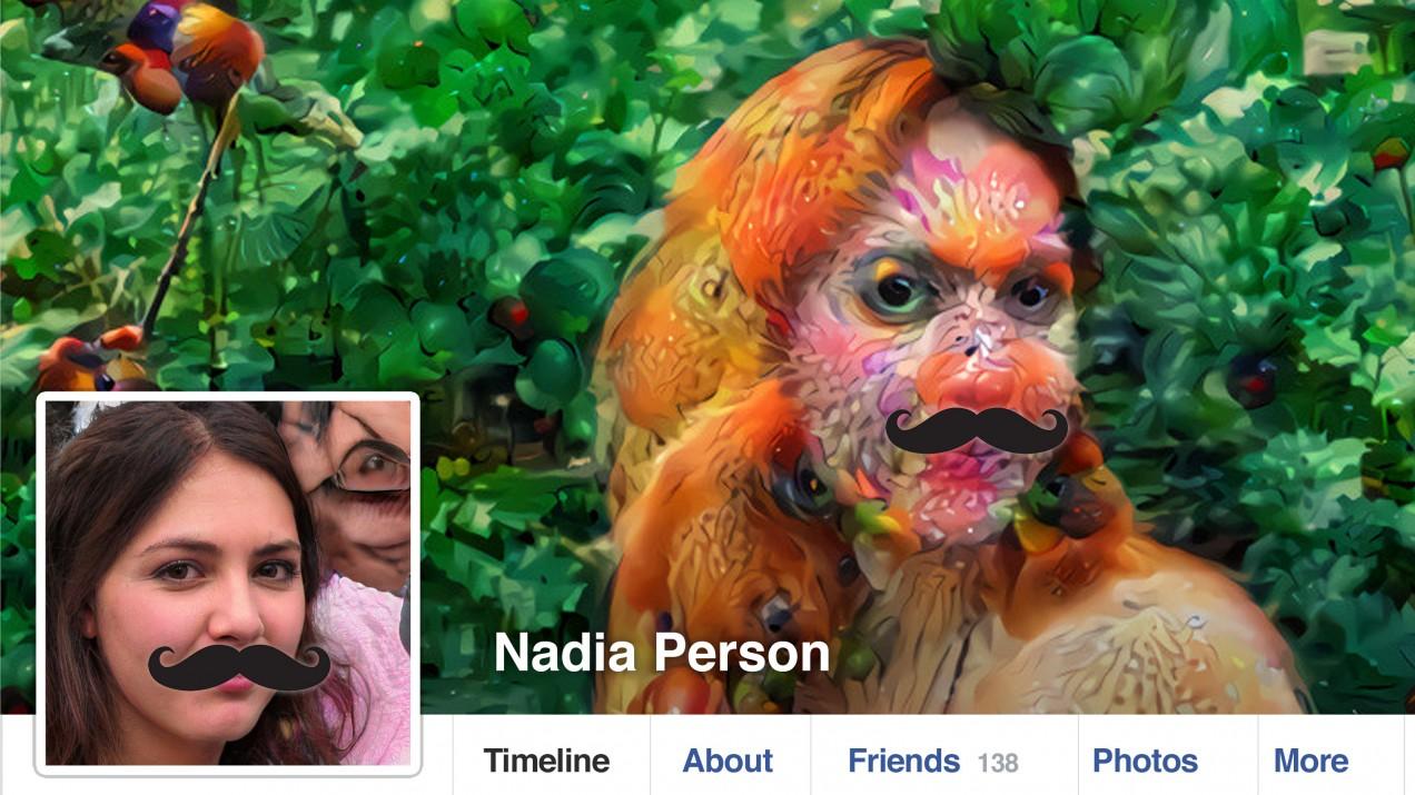 A fake Facebook account