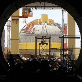 Test Reactor at the Kalpakkam Nuclear Complex