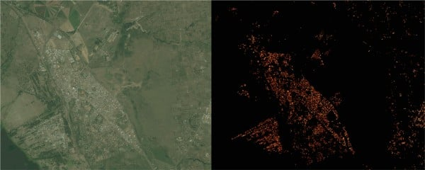Facebooks new map of world population could help get billions facebook creates maps of population density like this one for naivasha in kenyas great rift valley using algorithms trained to recognize signs of human sciox Image collections