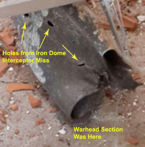 iron -   An Explanation of the Evidence of Weaknesses in the Iron Dome Defense System Figure%204A_0