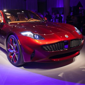 Fisker automotive electric Atlantic sedan