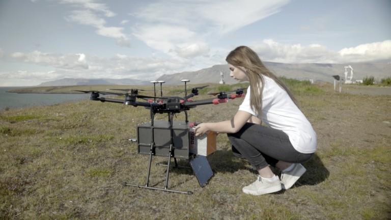 Flytrex drones will make delivers in Reykjavik