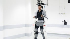 Man in exosketeton
