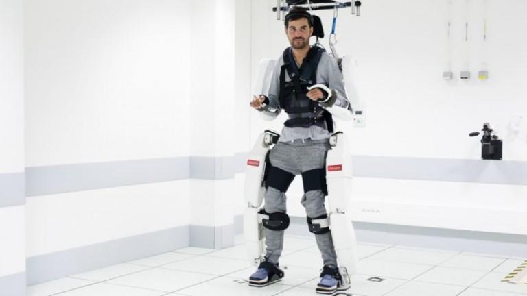 Man in exosketeton