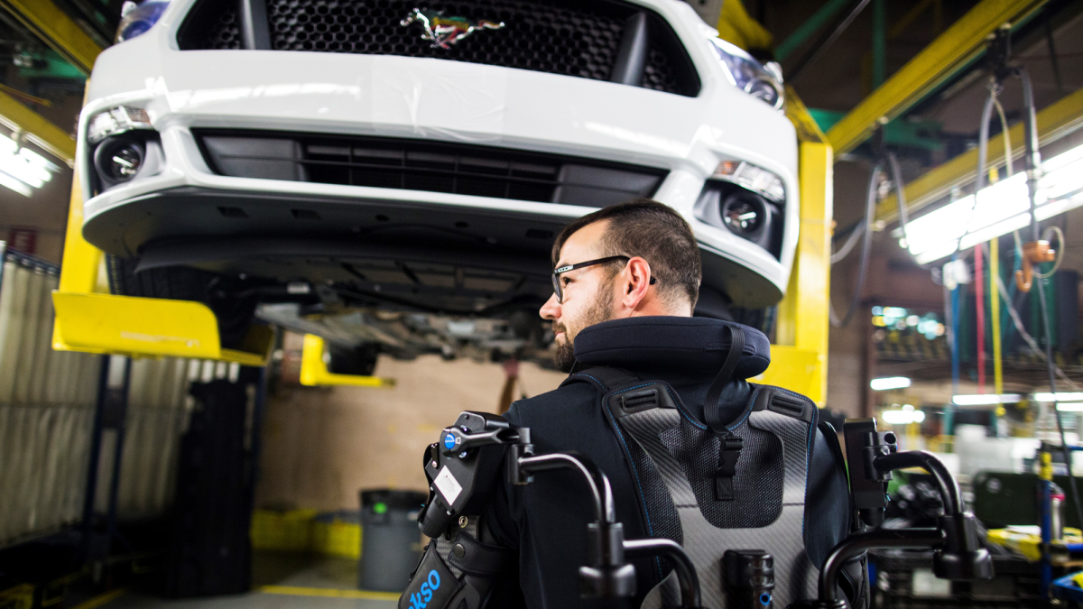 Ford is deploying exoskeletons in 15 of its factories around the world