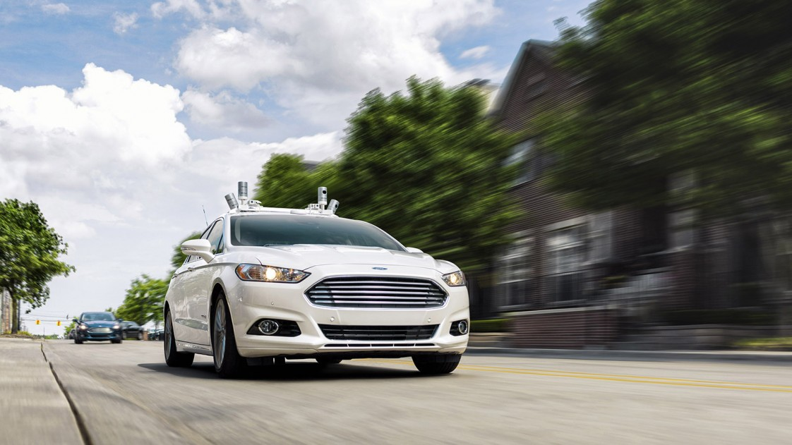 Ford's self-driving car