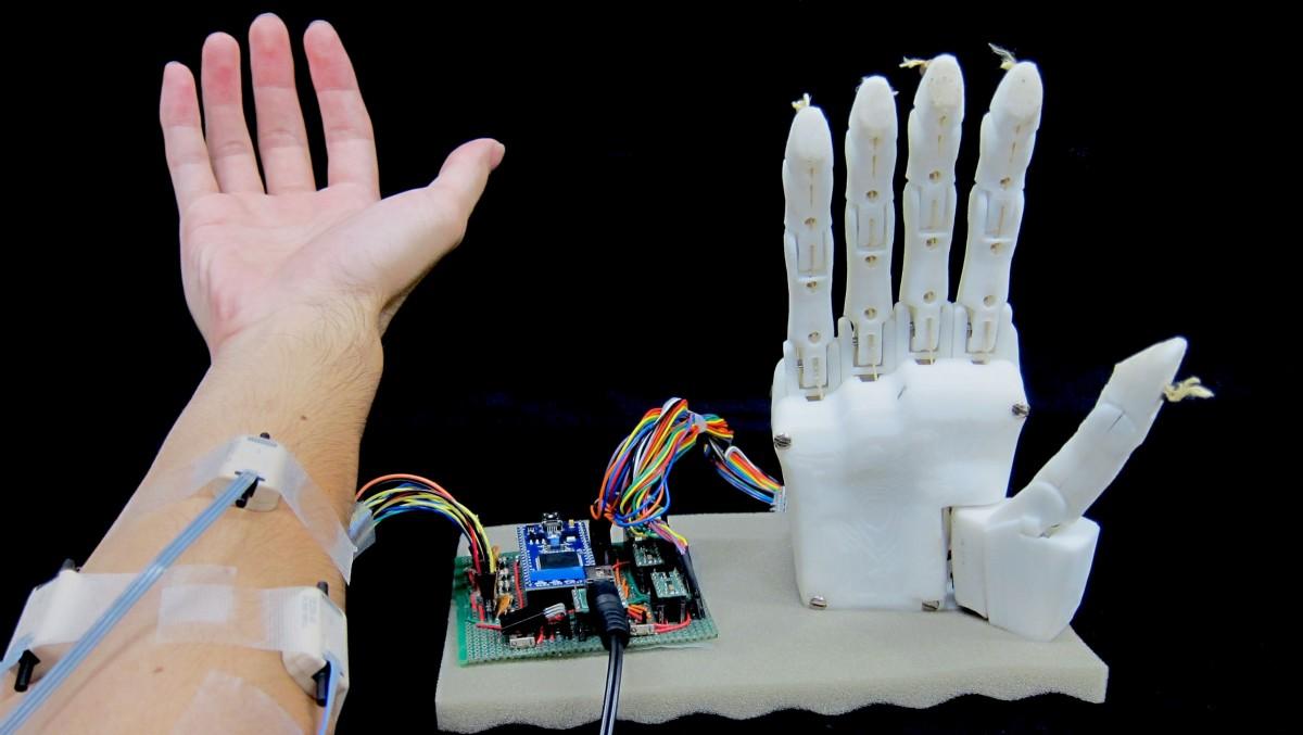 Machine learning makes a better Luke Skywalker hand