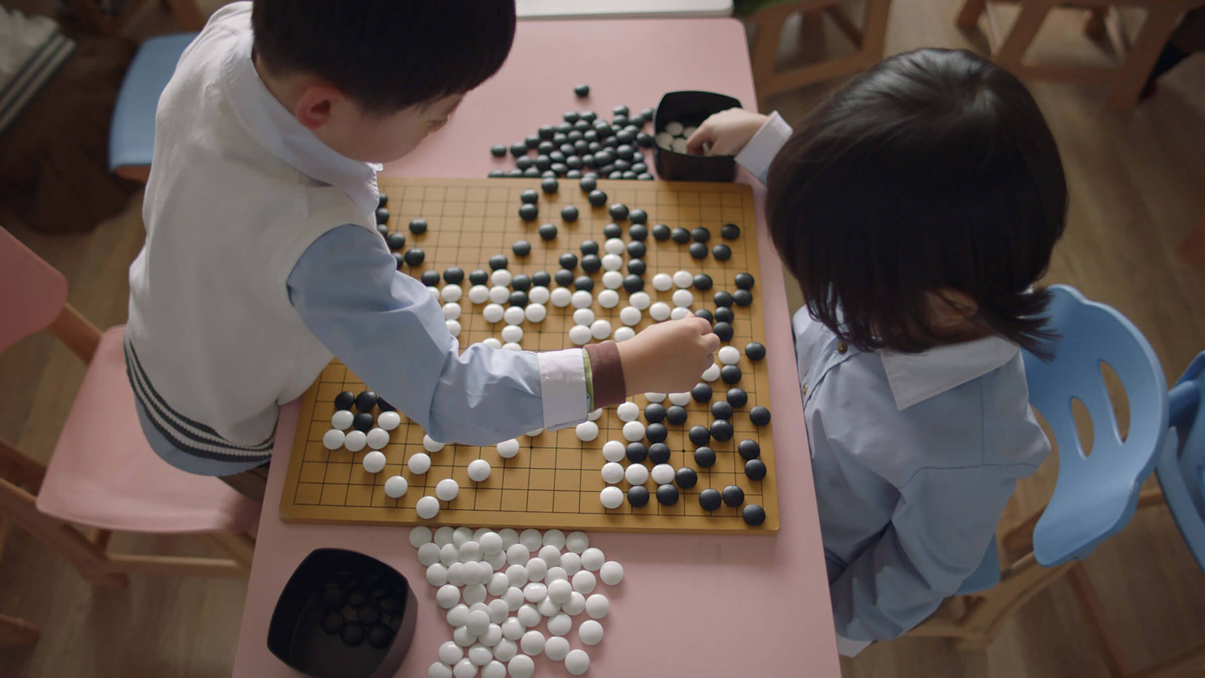 AI program beast former self in game of Go
