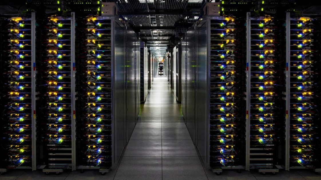Google's cloud servers
