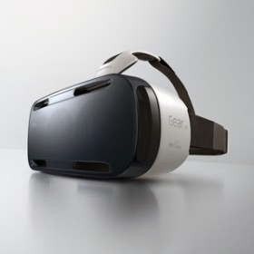 The Gear VR headset