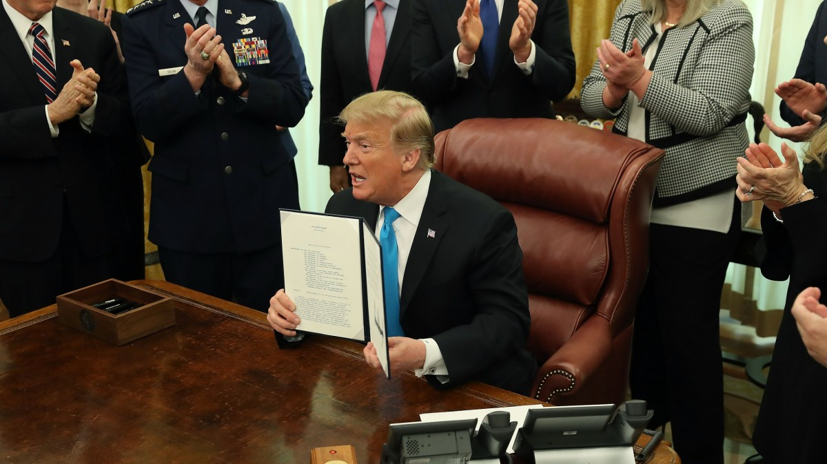 President Trump has signed a directive to establish Space Force