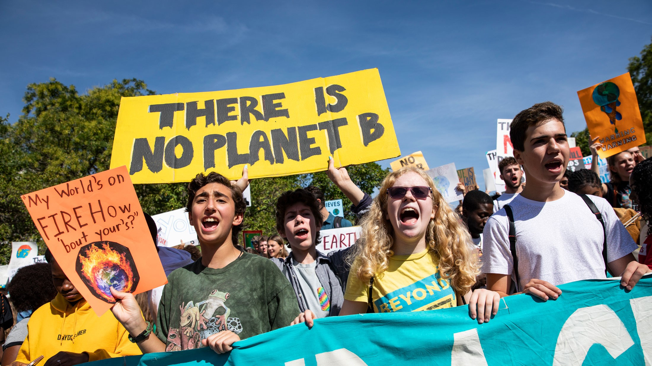 Climate activism is now a global movement, but it's still not enough