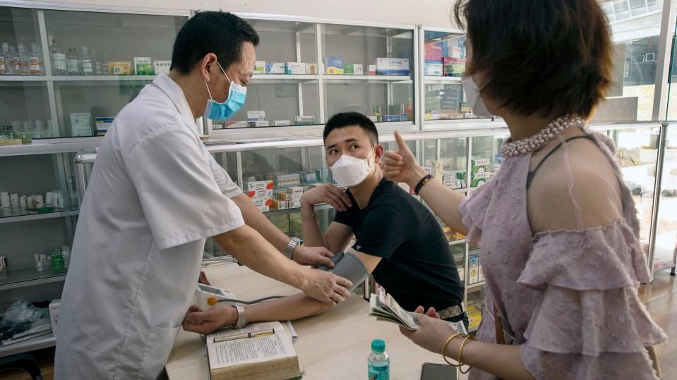 patient receives treatment