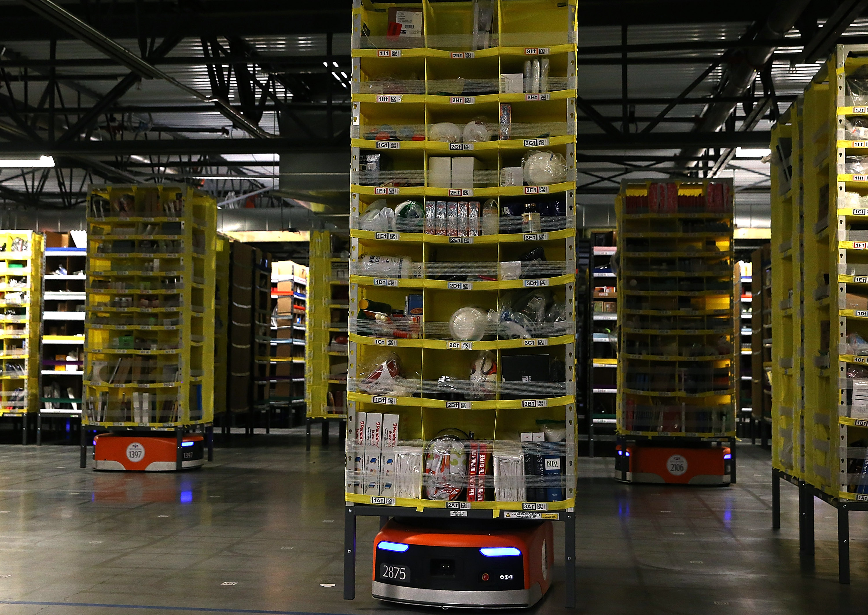 Before They Hit the Road, Driverless Vehicles Will Take Over Warehouses