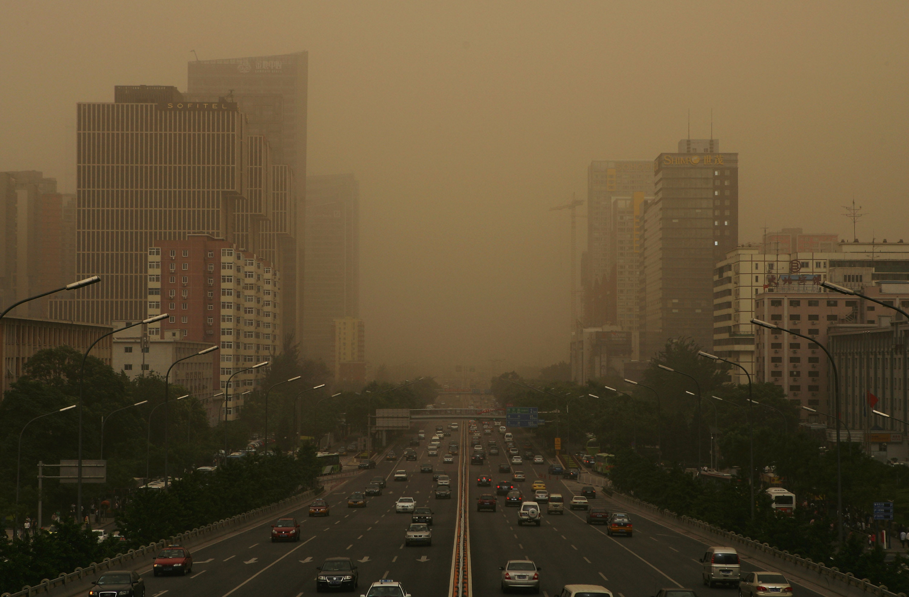 Air pollution may have muted climate change's impact on droughts