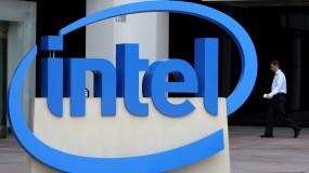 An Intel logo