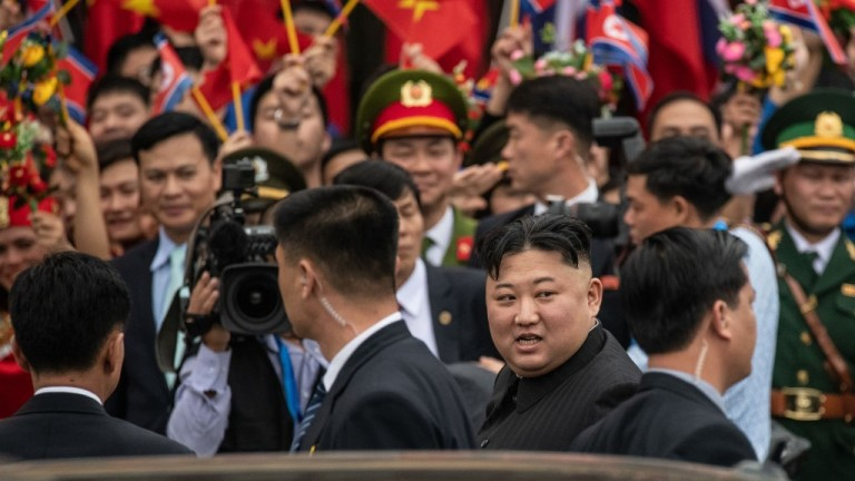 North Korean Leader Kim Jong-un Visits Vietnam
