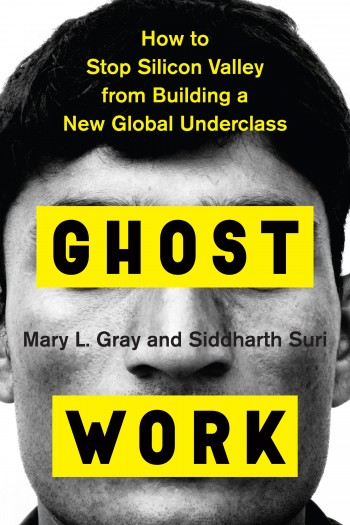 The cover of the book Ghost Work