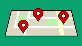 Google maps pins