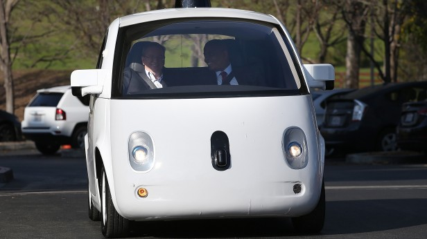 """Google's Self-Driving AI Counts as a """"Driver,"""" According to"""